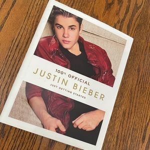 100% Official Justin Bieber Book